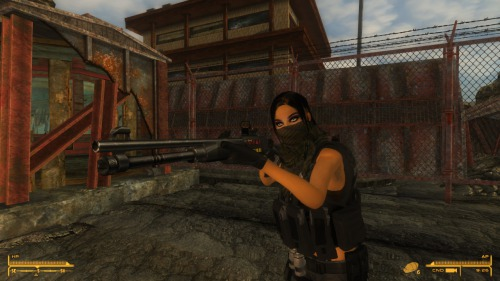 Лаки 38 в игре Fallout New Vegas